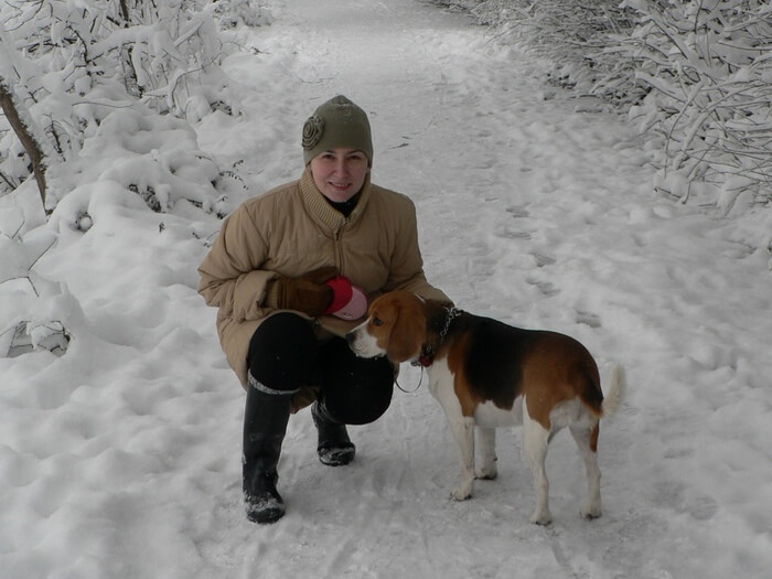 Viaţa Cu Un Beagle – La Plimbare Cu Kimi